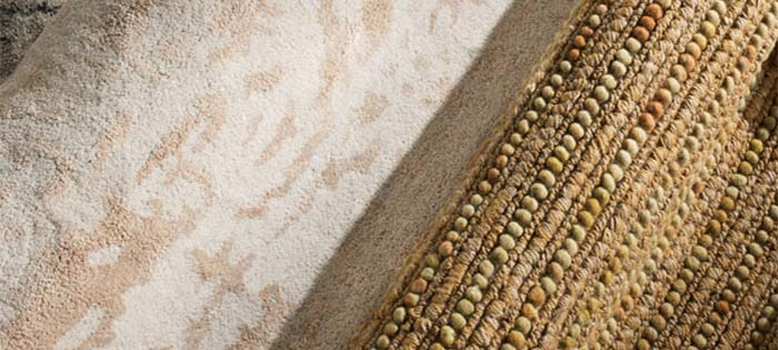Neutral area rugs found at Curtain & Carpet Concepts in Saratoga Springs NY