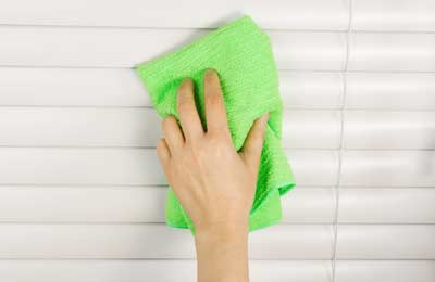 Cleaning Tips for Curtains & Blinds